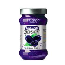 Джем Черная слива без сахара, Jamun Zero Sugar Jam MALA'S, 350 г