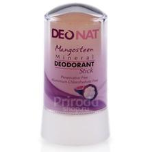 Минеральный дезодорант стик ДеоНат с экстрактом мангостина, 60 г