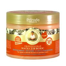 Маска для волос Облепиховая питание и восстановление на 5 соках, Рецепты бабушки Агафьи, 300 мл