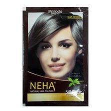 Хна для волос Neha темно-коричневая, 15 г