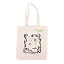 Холщовая сумка Коты над двором (100% хлопок)