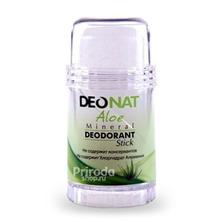 Минеральный дезодорант стик ДеоНат с экстрактом Алое и глицерином, 80 г