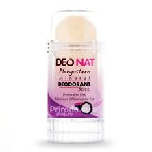Минеральный дезодорант стик ДеоНат с экстрактом мангостина, 80 г