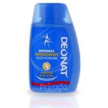Минеральный Дезодорант-порошок для ног с ментолом, 50 г