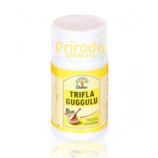 Пищевая добавка Trifla Guggulu (Трифала Гуггул), 40 табл.