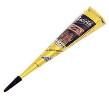 Хна для мехенди конус Golecha Super Black Sehnaas, Голеча насыщенный черный, 25 г