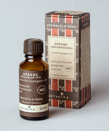 Жирное масло Арахиса 100%, 30 мл