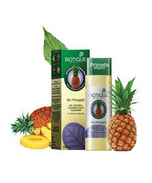 Гель для умывания с ананасом, для нормальной и жирной кожи Bio Pineapple Biotique, 120 мл