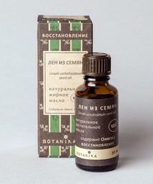 Жирное масло Лен из семян 100%, 30 мл