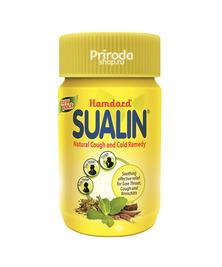 Натуральные таблетки от боли в горле Sualin, 60 таб
