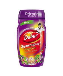 Чаванпраш Фруктовый микс (Chyawanprash Mixed Fruit) Dabur, 500 г
