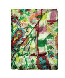 Шелковый воздушный платок с легким узором