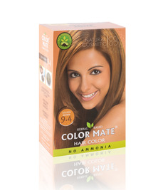 Травяная краска для волос на основе хны COLOR MATE, тон 9.4, 75 г