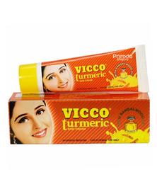 Аюрведический крем для лица с куркумой и маслом сандала Vicco Turmeric cream, 15 г