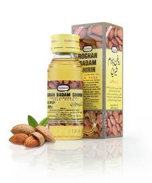 Высококачественное миндальное масло Roghan Badam Shirin, 100 мл