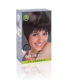 Травяная краска для волос на основе хны COLOR MATE, тон 9.1, 75 г