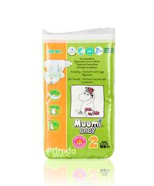 Подгузники Muumi Baby Mini 2, 3-6 кг, 58 шт