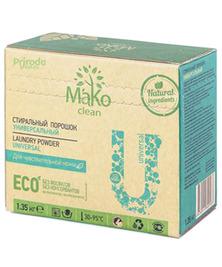 Порошок стиральный MaKo Clean Universal универсальный, 1,35 кг
