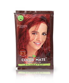Травяная краска для волос на основе хны COLOR MATE, тон 9.3, 15 г